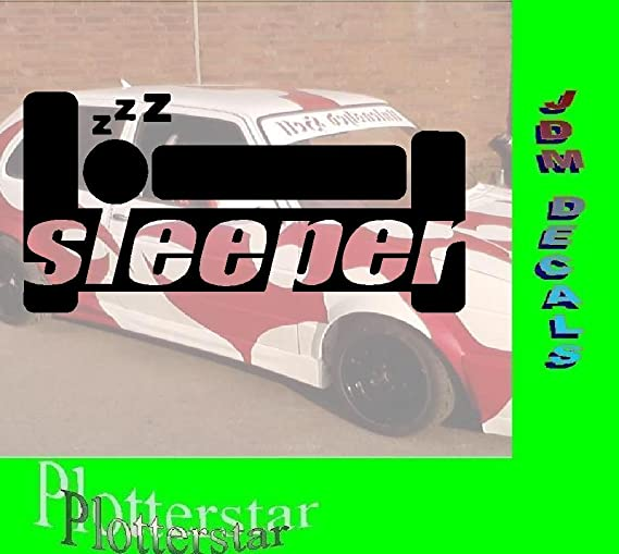 Sleeper adhesivos: Amazon.es: Coche y moto
