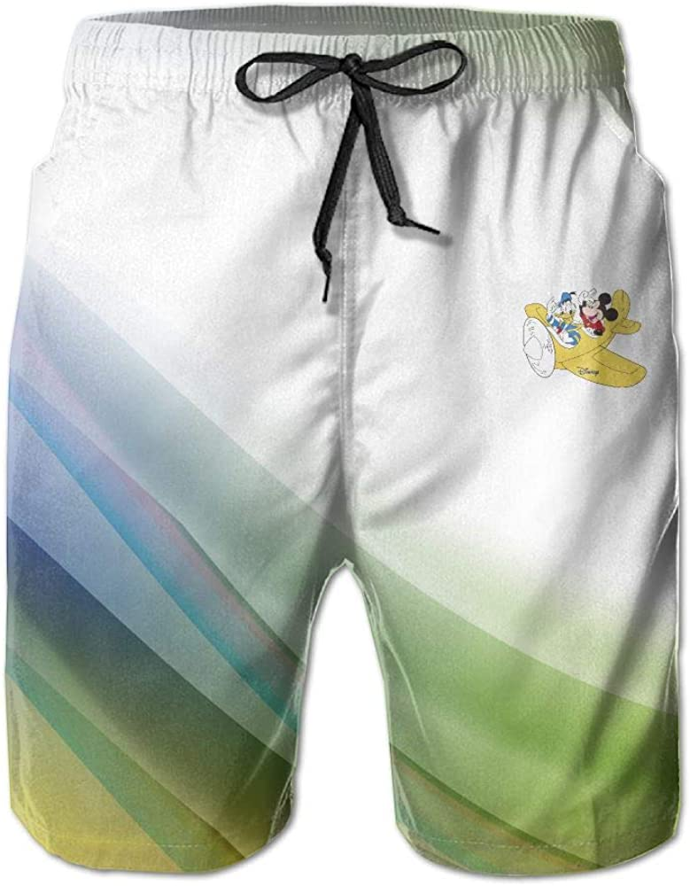 Donald Duck and Mickey Shorts AiguanBoys Short Beach Pant