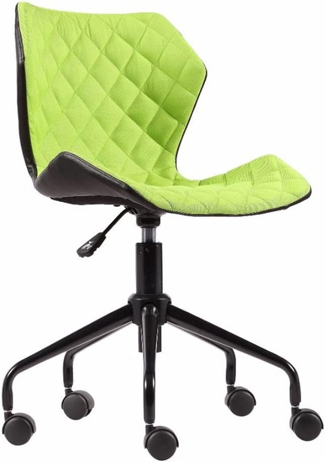 Modern Home Ripple Mid - Back Office Chair, Black/Lime