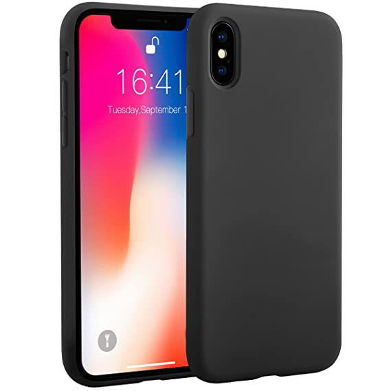 outlet store 6e35a 8664b iPhone X Silicone Case, iPhone X Case Miracase Liquid: Amazon.in ...