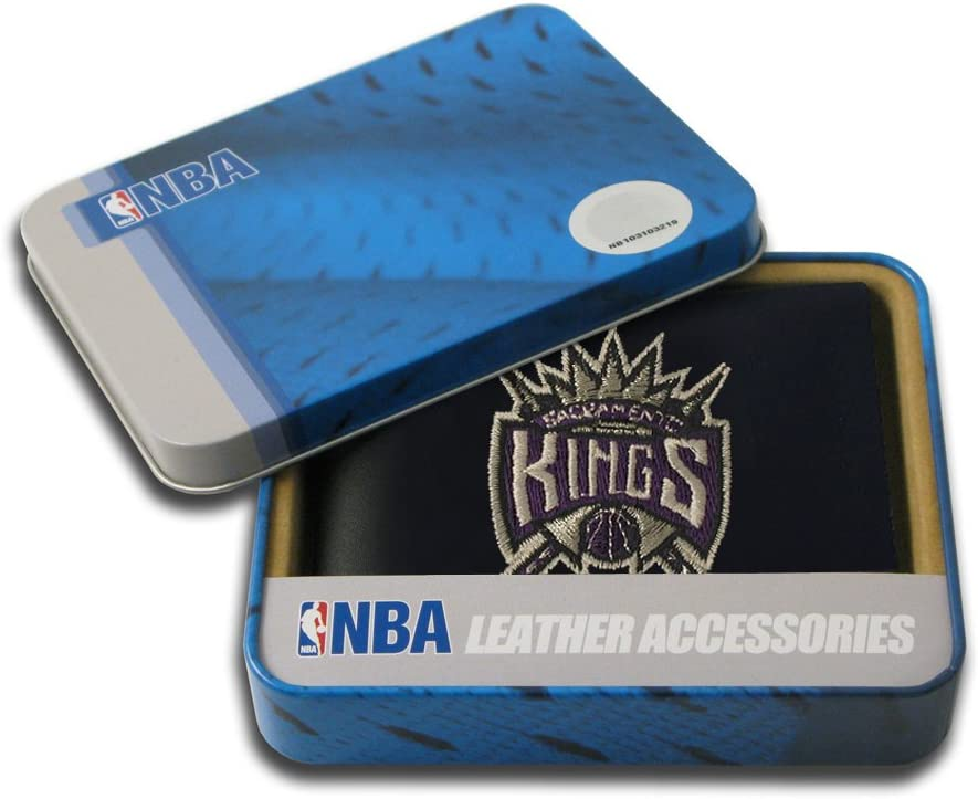 Rico Industries NBA Boston Celtics Embroidered Leather Billfold Wallet