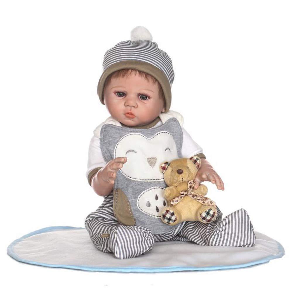 CHENG Simulation Doll wiedergeborene Realistische Baby-Cute Babies Wasserdicht Spielzeug Geburtstagsgeschenk