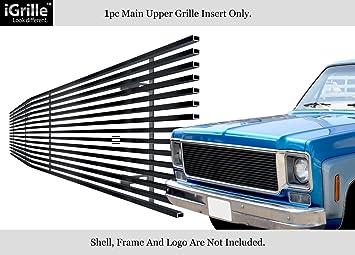 APS Fits 1973 1980 Chevy C K Pickup Suburban Blazer Black Stainless