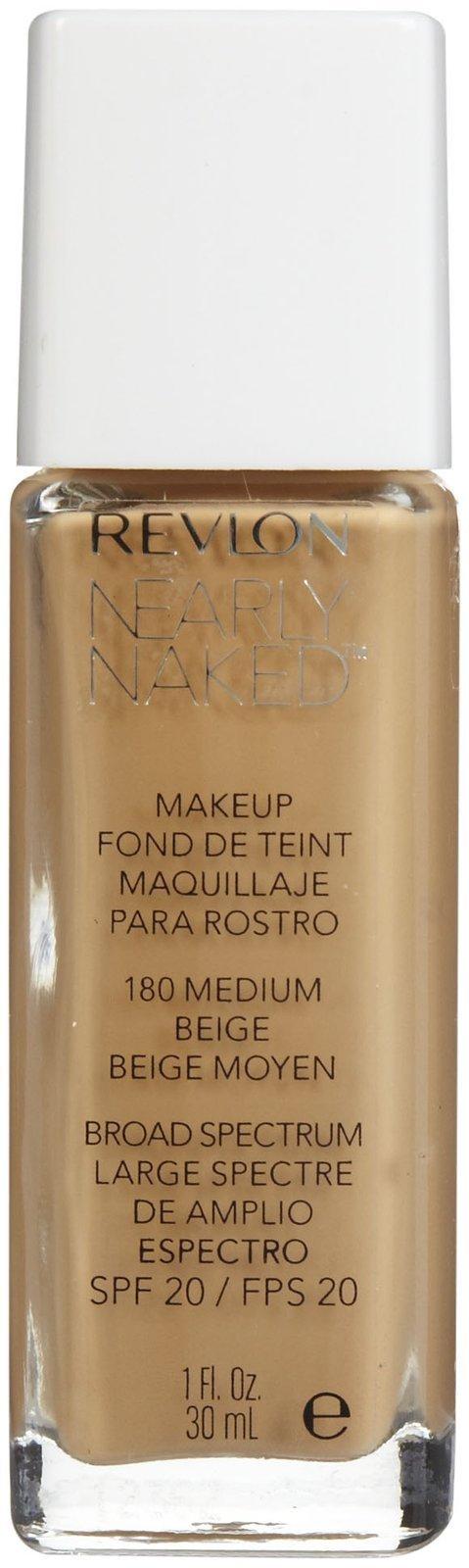 Revlon Nearly Naked Makeup - Medium Beige - 1 oz