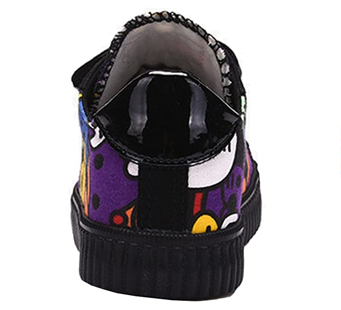 ca5ea77316e8d Amazon.com | VECJUNIA Boys Girls Graffiti Cartoon Hook and Loop ...