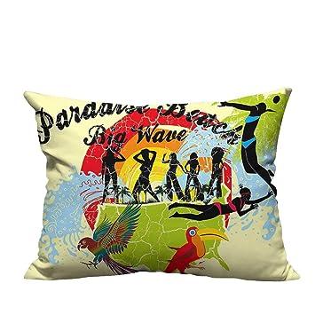Amazon.com: YouXianHome - Funda de almohada con estampado de ...