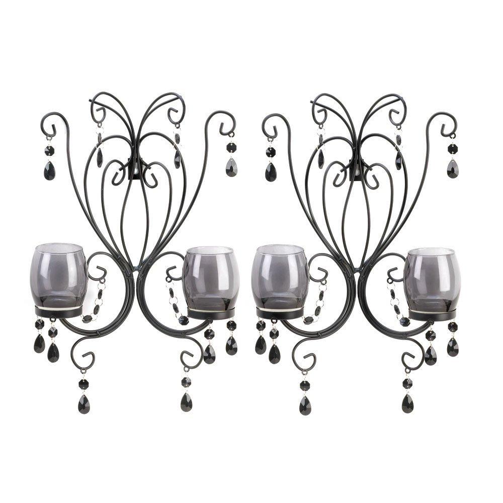 VERDUGO GIFT Midnight Elegance Wall Sconces VERDUGO GIFT CO. A10015106