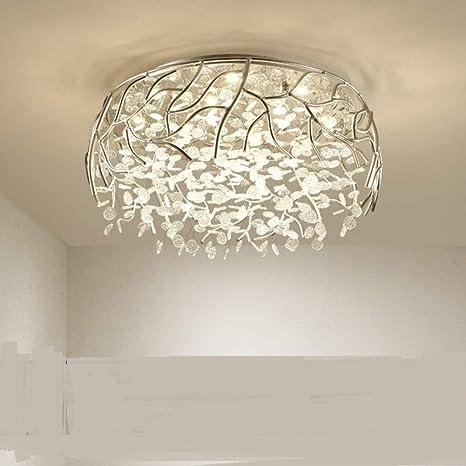 Lámparas románticas calientes,Luz de techo dormitorio-B ...