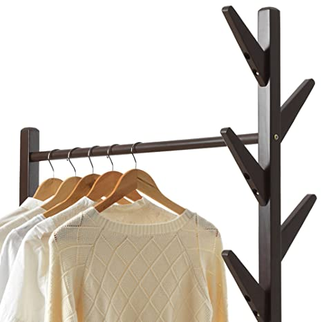 Amazon.com: Teng Peng Coat Rack - Solid Wood Branch Multi ...