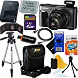 Canon PowerShot SX720 HS 20.3 MP Wi-Fi Digital Camera with 40x Zoom & HD 1080p video (Black) + 12pc 64GB Deluxe Accessory Kit w/HeroFiber Gentle Cleaning Cloth