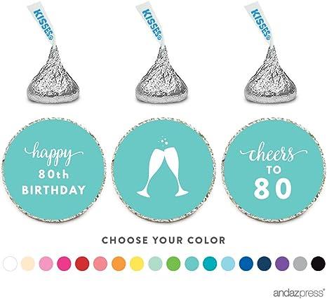 gracias Personalizado Brillo 60th Cumpleaños Fiesta Favor Pegatinas Etiquetas