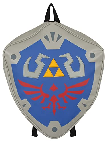 fa770b57b269 Image Unavailable. Image not available for. Color  Nintendo Legend of Zelda  Skyward Sword Hylian Shield Backpack