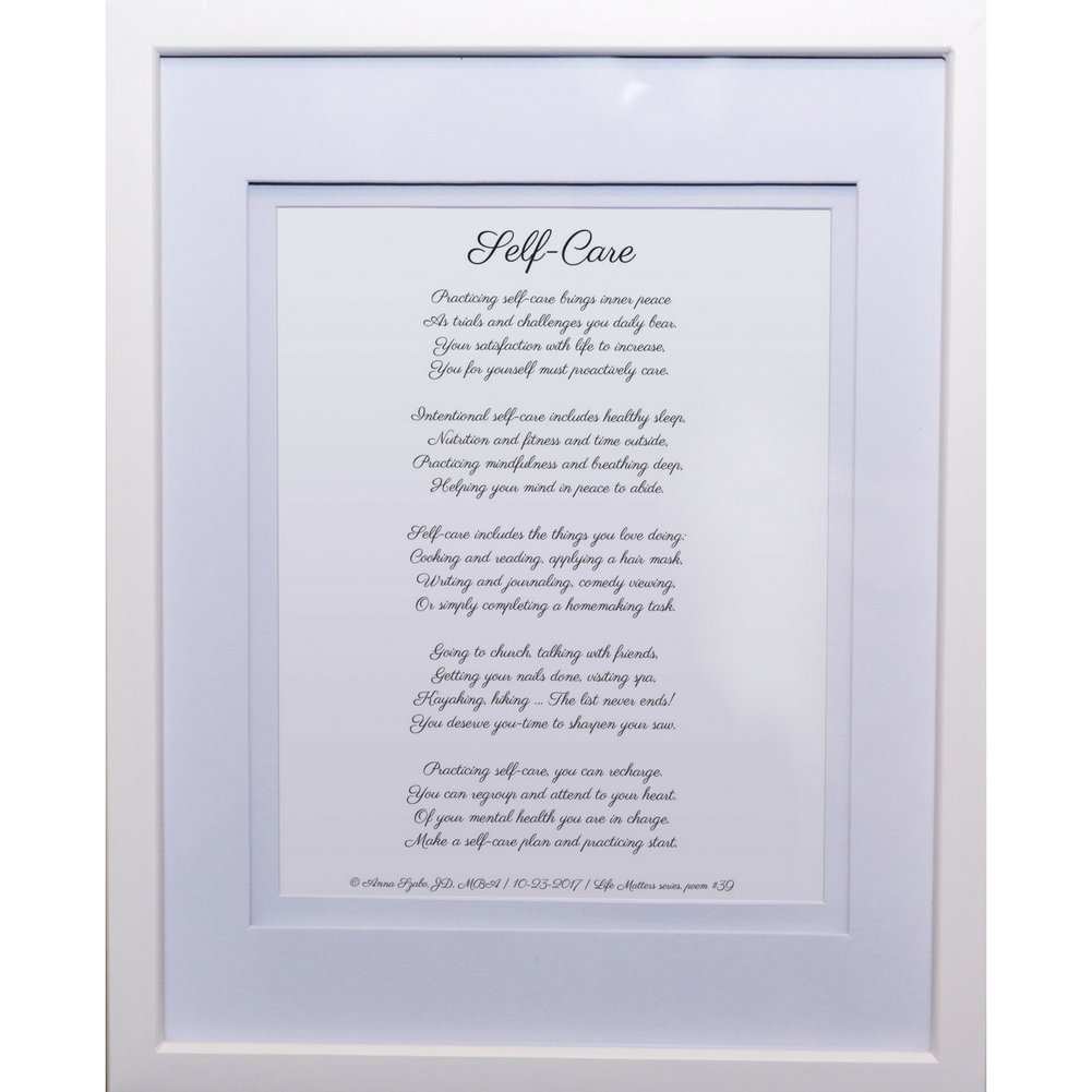 Christian Poems by Anna Szabo #PoemsFromGod Self-Care framed poetry for Prayer Hallway