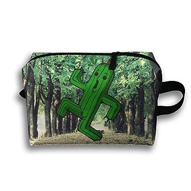 Amazon.com: Travel Clutch Handbag Scare Silly Cactus ...