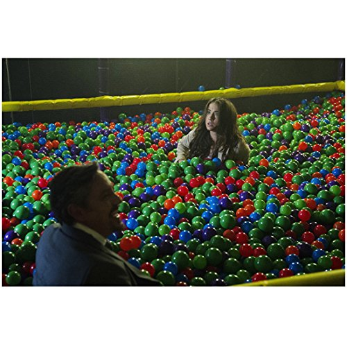 The Magicians Charles Mesure as The Beast with Stella Maeve as Julia Wicker in a ball pit 8 x 10 Inch Photo (The Wicker Julia Magicians)