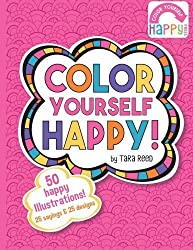 Color Yourself Happy (Volume 1) by Tara Reed (2015-07-24)
