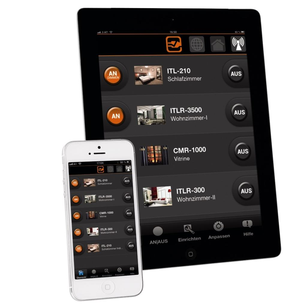 xavax intertechno home automation gateway inkl 2. Black Bedroom Furniture Sets. Home Design Ideas