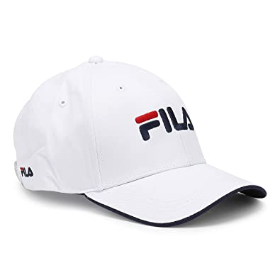 b4c2ae8ff48 Fila White Humphrey Cap  Amazon.co.uk  Shoes   Bags