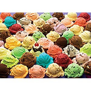 Cobblehill 80061 1000 Pc Ice Cream Puzzle Vari