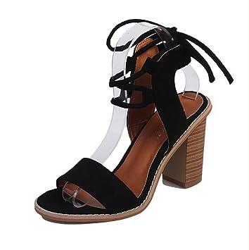 Damen Keil Sandalen Zehentrenner Offener Zeh Kreuzgürtel Schuhe Neueste Hochhackige Schuhe Sandalen,Red,36