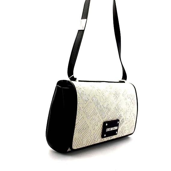 Tasche CANVAS Damen Natural with black edges - JC4037PP15LD100B Love Moschino cC10A