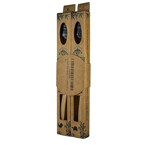 Outdoor freakz bambú cepillo de dientes