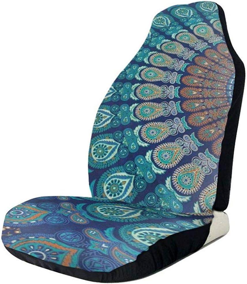 Sobre-mesa Autositzbezug 1 St/ück B/öhmen Mandala Indien Wohnkultur Autositz Schutzkissen Gruppe Universal Fit