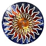 Next Innovations WA3DSUNFACEBL/RD Sun Face Refraxions 3D Wall Art, Blue/Red