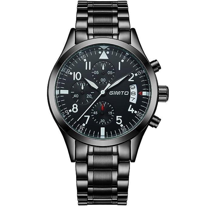 2 opinioni per gimto gm206 da uomo Sport per orologio analogico orologio da polso quadrante 50