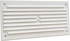 Home Smart Plastic Air Vent Louvre Grille Cover Hit & Miss 6