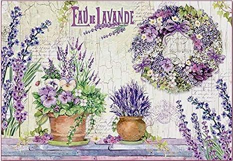 Victoriana Lady y Blanco Flor Decoupage 1 X Hoja De A4