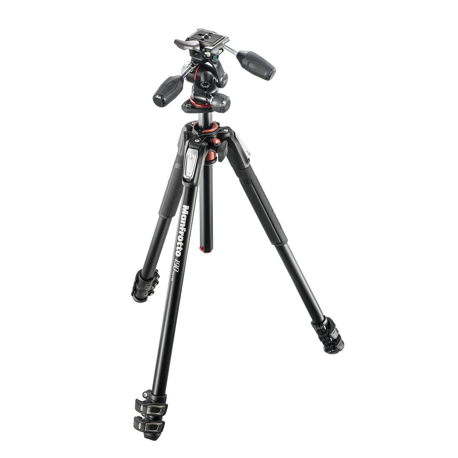 Manfrotto MK190XPRO3-3W | Aluminum 3 Section Tripod with Head by Manfrotto (Image #1)