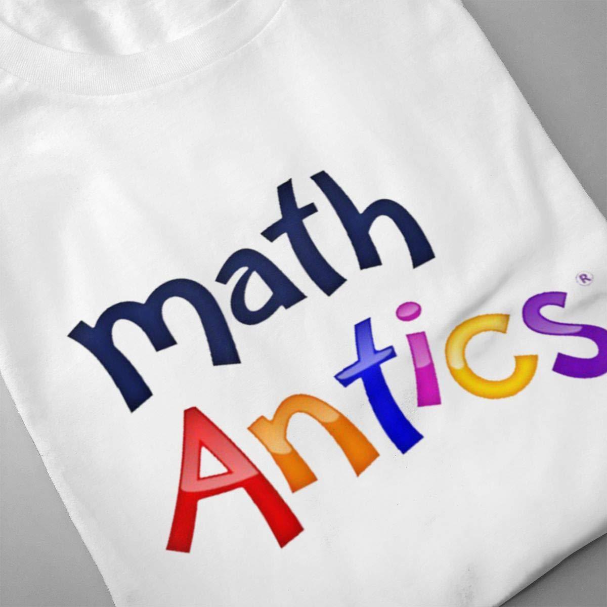 HIPGCC Mens Fashion Math Antics Tee