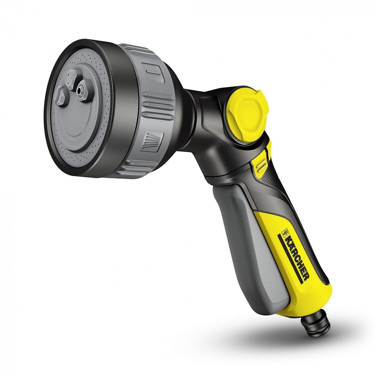 Karcher 2.645-269.0 19.2 x 7.0 x 16.2 cm Multi-Functional Spray Gun Plus - Yellow/Black/Grey