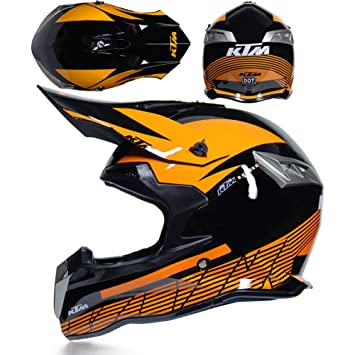 CFYBAO V3 Moto Casco Personalidad Creativa Temporada Equitación Casco Cross Country Racing Fox Casco Completo,