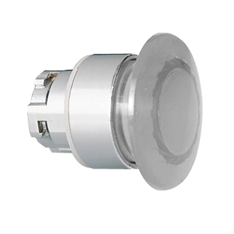 ASI 8LM2TBL6148 ASI Mushroom Switch Push Button 40 mm Diameter 22 mm Metal Base White Momentary