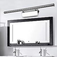 Led-spiegellamp met schakelaar, 7 W/55 cm, neutraal wit (4500 K), 490 lm, vervangt 20 W TL-buis, badkamerlamp, kastlamp…