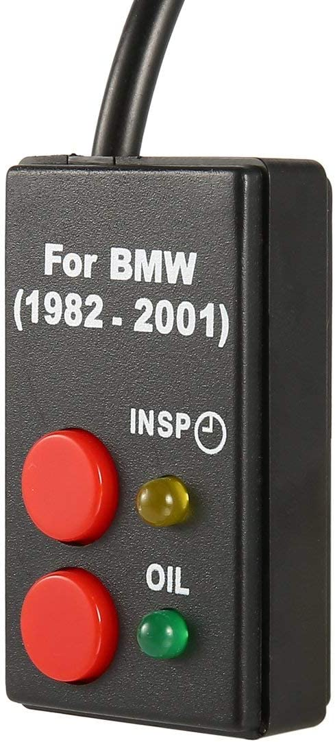 1pcs strumento di diagnostica di reset di servizio olio reset per BMW E30 E34 E36 E39 Z3 1982-2001 Nuovo Dropping Shipping ~ nero