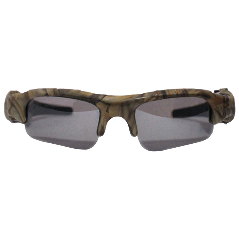POV ACG22-CA Standard Definition Action Camera Eyewear and Webcam (Camo)