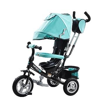 DACHUI Niños 1-3 años Triciclo, Multi-Funcional, Bicicleta ...