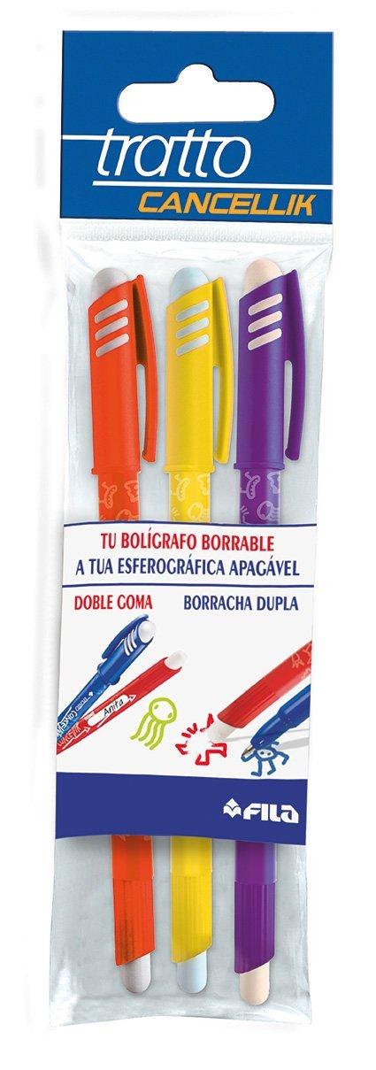 Tratto Cancellik Rotulador pack de 12 unidades Azul, Azul
