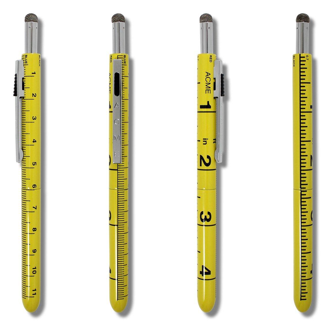 ACME Studios Ruler Seven Function Pen by Adrian Olabuenaga (P7FP04) by ACME Studios Inc (Image #2)