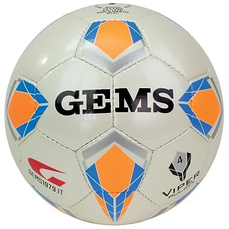 Balón de fútbol tamaño 4 Gems Viper pollitos 4: Amazon.es ...