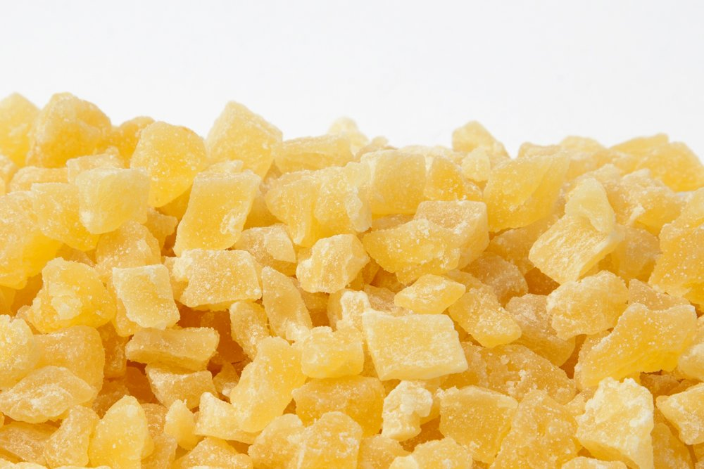 AIVA - Diced Dried Pineapple Premium Grade, 1 lb