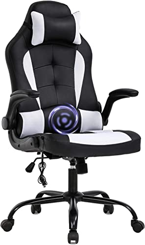 PC BestOffice Gaming Chair Massage Office Chair Ergonomic Desk Chair
