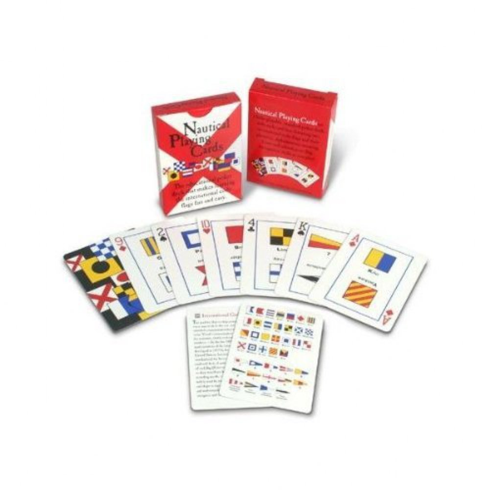 Playing Cards Card Decks Plastic Waterproof for Boat Bridge Poker etc Nautical Flags /& Their Meanings