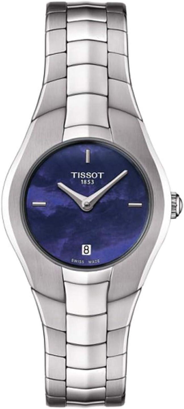 Tissot T Trend T ronda reloj de señoras esfera azul T0960091113100