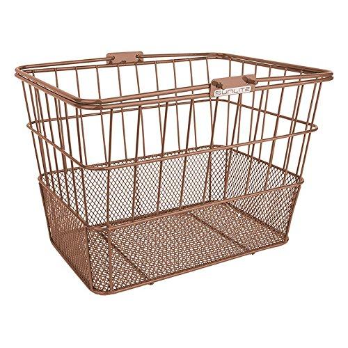 Sunlite Standard Mesh Bottom Lift-Off Basket, Brown