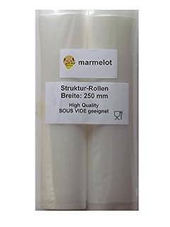 Unold für Gastroback 50 St Vakuumbeutel Goffriert 20x30 cm Wabenstruktur z.B