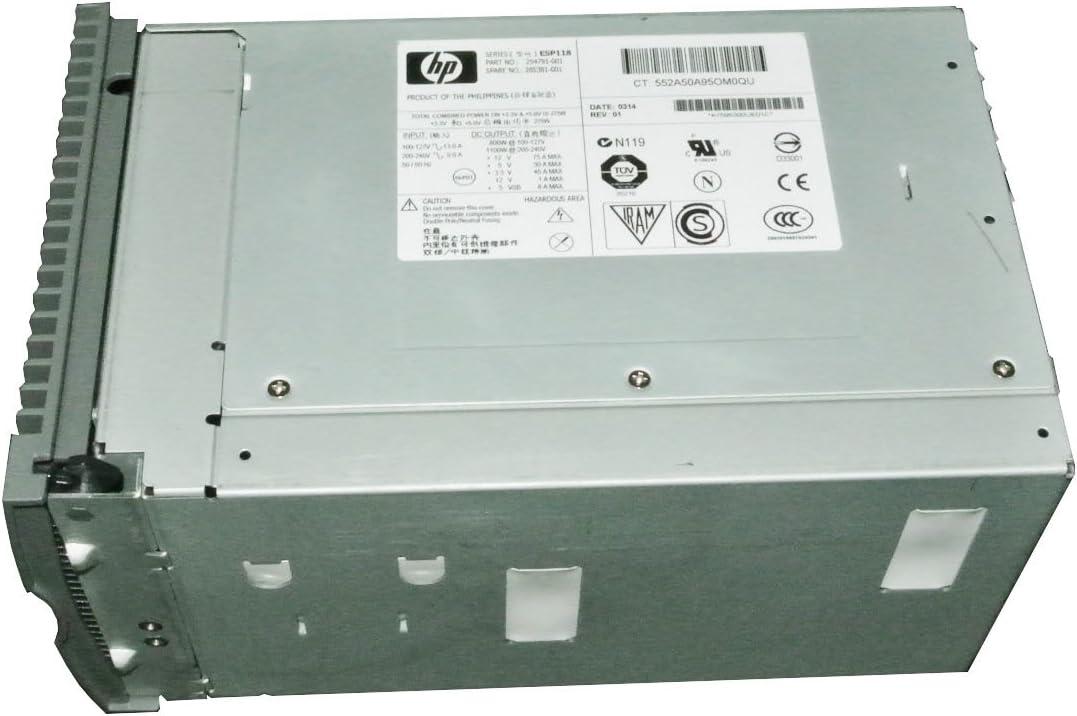 285381-001 HP PWR SPLY,1100W,HT//PLG,PFC